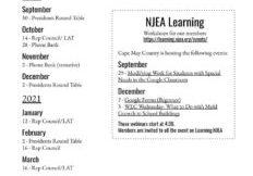 CMCEA Calendar 20-21